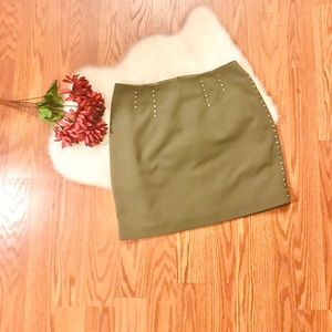H&M Studded skirt size 8